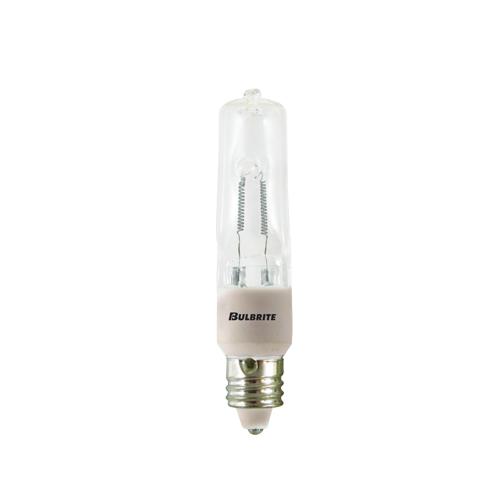 Frost Bulbrite 610032 Q35FR//MC 35-Watt Dimmable Halogen JD Type T4 Pack of 6 Mini-Candelabra Base